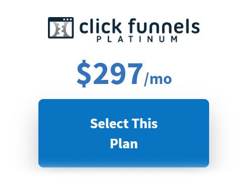 Click Funnel Plan $297
