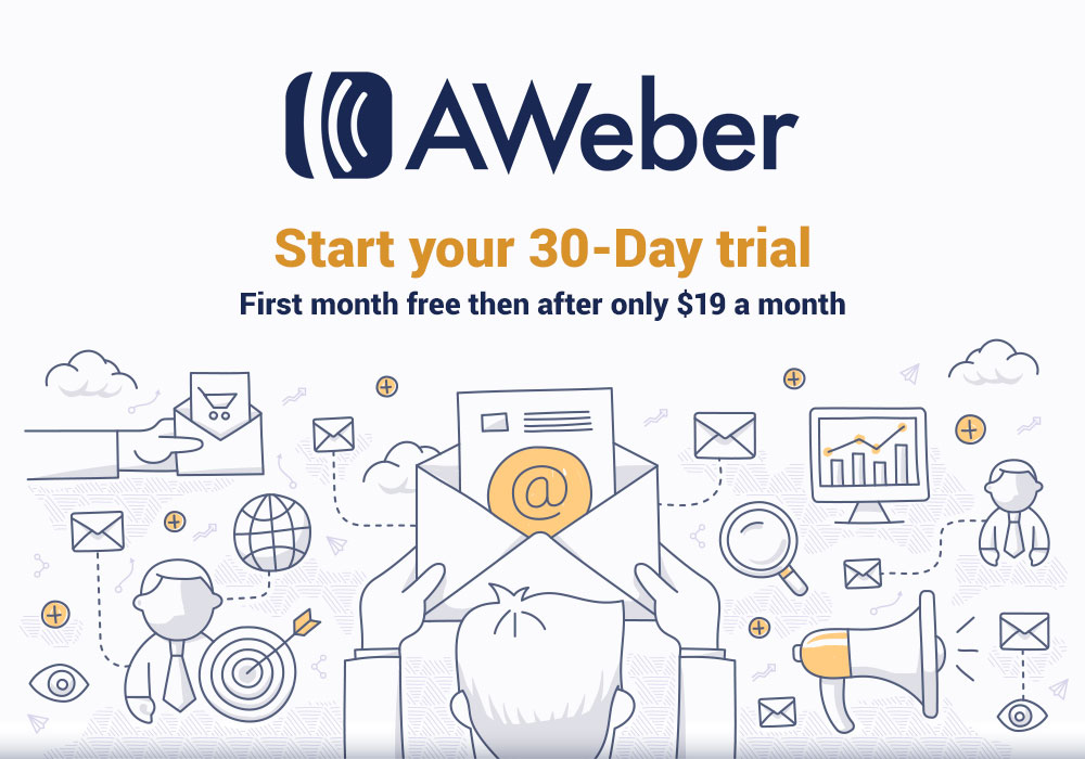 aweber start your 30-day trial